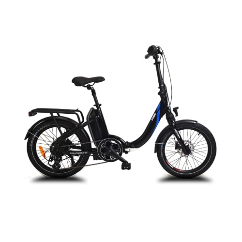 URBANBIKER - vélo électrique Pliant Mini, Batterie Lithium Samsung 36 V 14 Ah (504 Wh) Moteur 250W, Freins hydrauliques, 20 Pouces, Noir