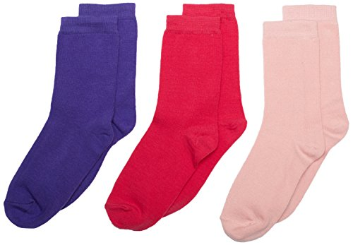 Melton Mädchen 600066 Socken, Mehrfarbig (Girl 097), 41 (Herstellergröße: 39-41) (3er Pack)