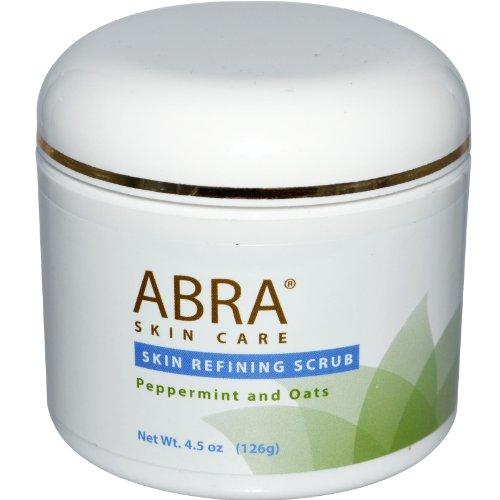 Abra Therapeutics Skin Refining Scrub Peppermint and Oats -- 4.5 oz by Abra