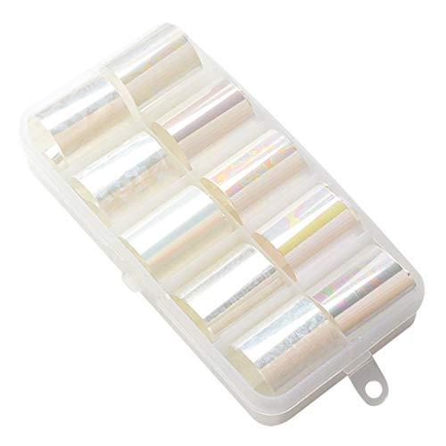 Cuteelf Nagelsticker Nagel Aufkleber - Stück Nail Art Vinyls - DIY Nagellack Schablone für Nageldesign und Maniküre