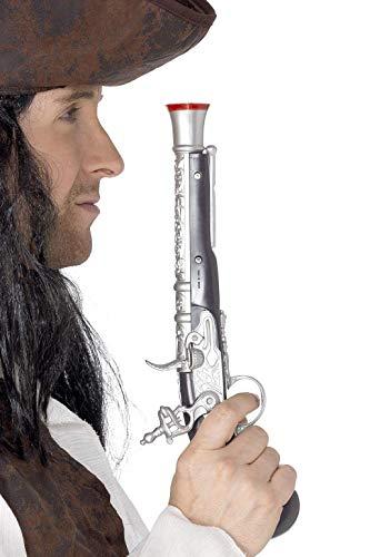 Smiffys Pistola da pirata 30cm / 12in, realistico