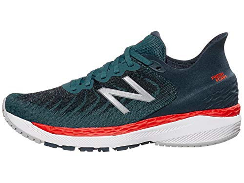 New Balance Men's Fresh Foam 860v11, Jet Stream/Petrol, 9.5 Medium