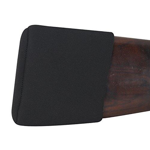 Tourbon Shooting Adjustable Slip On Shotgun Recoil Pad (Medium, Black)