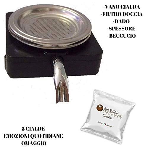 Ricambi Originali Frog Didiesse -VANO PORTACIALDA-FILTRO DOCCIA-DADO-SPESSORE-BECCUCCIO