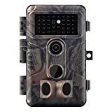 Meidase S3 Pro Trail Camera 32MP 1080P with Advanced Night Vision Fast 0.1S Motion Activated IP66 Waterproof for Game Trail Wildlife Monitoring and Home Security
