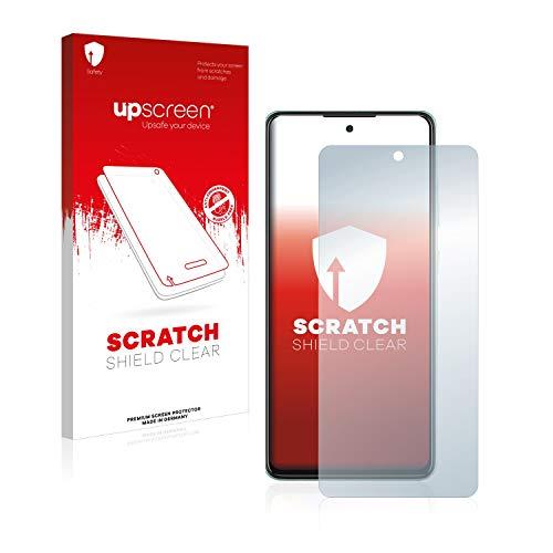 upscreen Schutzfolie kompatibel mit Samsung Galaxy A52 / 5G – Kristallklar, Kratzschutz, Anti-Fingerprint
