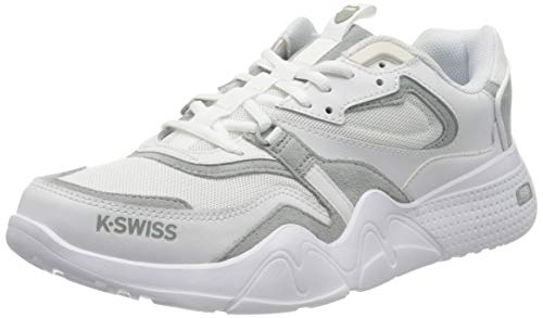 K-Swiss Herren CR-TERRATI Sneaker, Weiß (White/White 101), 43 EU
