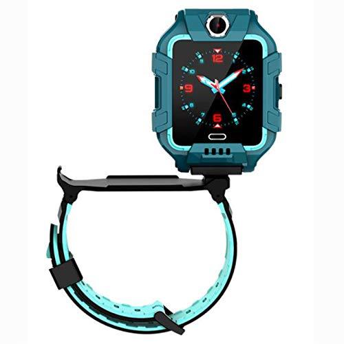BMDHA Kinder Smartwatch für Kinder mit Telefonfunktion, SIM, Wasserdicht, Handy Touchscreen, kinderuhr Smartwatch mit Kamera Voice Chat Telefon SOS smart Watch Kinder Uhr Kinder,Grün