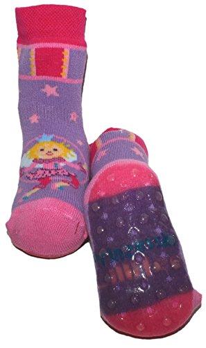 Ewers Stopper Socken/Stoppis Modell Lillifee in Flieder und Pink 27068-1756 (18-19)