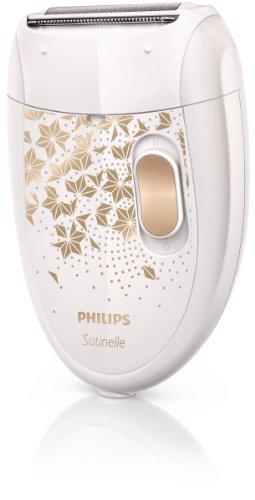 PHILIPS - HP6423/29 - Epilateur Satinelle 2 en 1 - 21 pinces, tête de rasage, 2 vitesses, tête...