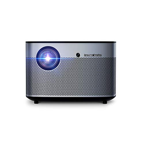 Xgimi H2 4K UHD Smart Projector| 1350 ANSI | Built-in Harman Kardon Sound Bar|| Smart Android System for Movie Lovers, Outdoor Travelers