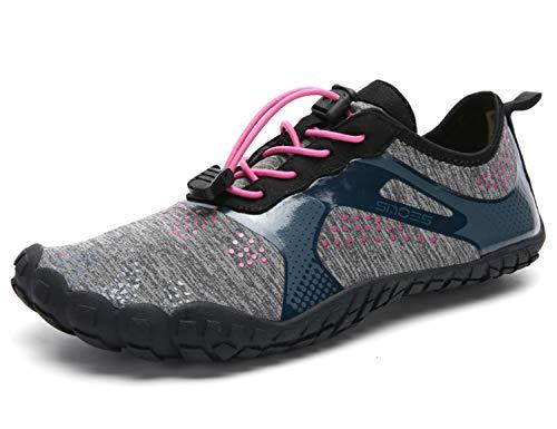 SINOES Sandalias Primavera Verano Unisex Adulto Zapatos de Playa,Zapatos para Deportes acuáticos,Calcetines de Yoga Descalzos,Calcetines de Buceo,Zapatos de natación para Surf Piscina Antideslizante