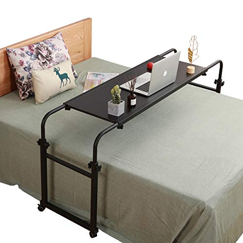 TigerDad Overbed Table With Wheels