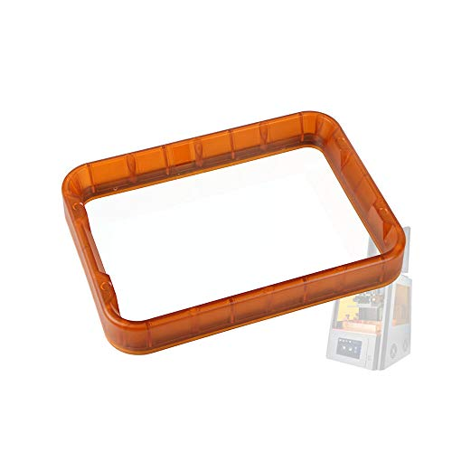 Meijin Printer Accessories Orange Light Curing UV Resin Plastic Trough 240 * 190 * 34mm for WANHAO D8 3D Printer