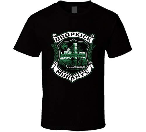 N/Y Dropkick Murphys The Meanest of Times Music Fan T Shirt Nero Nero XXL