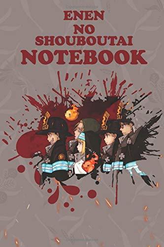 ENEN NO SHOUBOUTAI: Shinra Kusakabe,Enen no shouboutai anime, amazing poster,Journal for Writing, Size 6