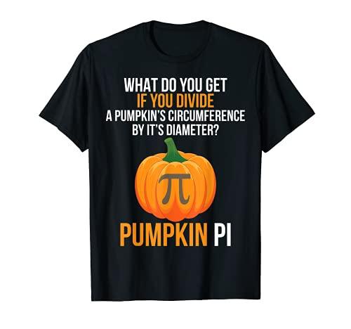 Funny Halloween Costume Math Teacher Pumpkin PI...