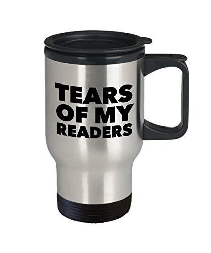 Taza de regalo para autor, diseño de lágrimas de mis lectores autor...