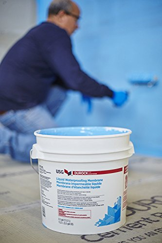 USG DUROCK BRAND LIQUID WATERPROOFING MEMBRANE 1 GALLON