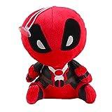 Tehui Deadpool Deadpool Marvel de películas Que rodea muñecos de Peluche Q versión de X-Men...