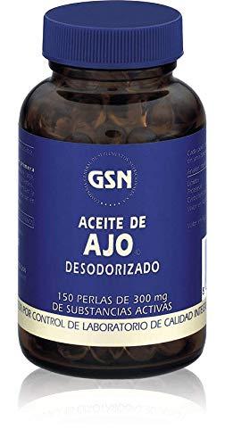 GSN Aceite Ajo 300 Mg Suplemento - 150 Cápsulas