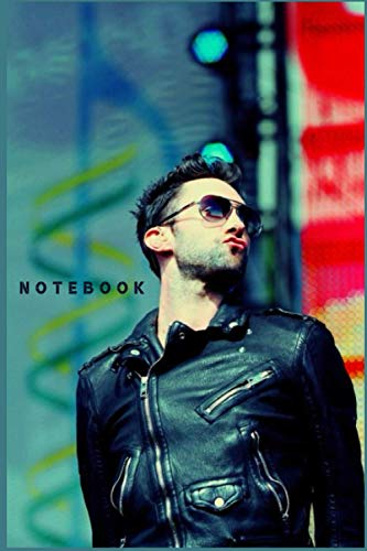 ADAM LEVINE Notebook/Writing Journal Perfect Birthday gift , for the Ultimate fan perfectly Lined journal with 110 Premium pages , 6x9 inches: Study notes , Memos , gifts for girls , teens