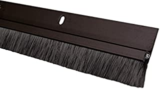 "Pemko 085580 18062DNB36 Brush Seal - Meeting Stile, Dark Bronze with Black Brush Insert, 1"" Width, 36"" Length, Dark Bronze"