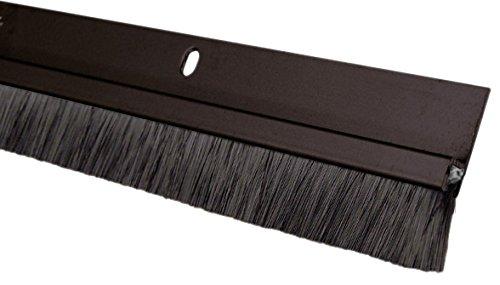 Pemko 085580 18062DNB36 - Sello para cepillo (bronce oscuro con inserto de cepillo negro, 1 pulgada de ancho, 36 pulgadas de largo, bronce oscuro