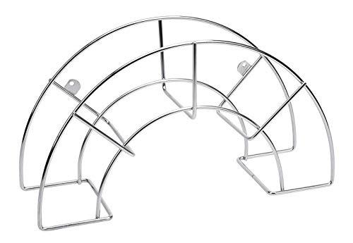 Sauvic 03302-Wandschlauchhalter, aus 304 Edelstahl, klein
