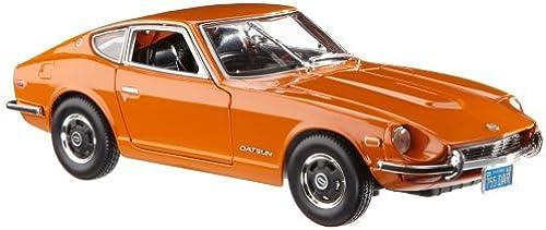 1 18 DATSUN 240Z 1971 Orange by Maisto