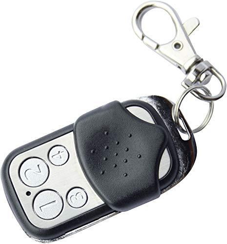 Schwaiger ZHF01 afstandsbediening, zwart, zilver