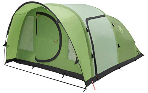 Coleman Opblaasbare Tent Valdes, 4/6 man Camping tent met luchtbalken, 4/6 persoons luchttent, Familie opblaastent met BlackOut Bedroom Technology, 100% waterdicht met genaaid in grondzeil