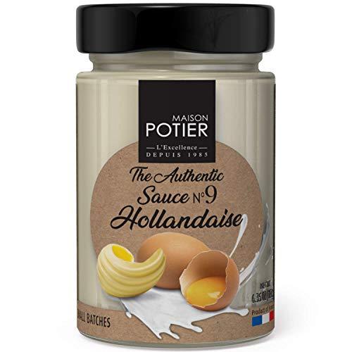 Maison Potier Hollandaise Sauce – 6.35 oz – Authentic French Glass Jar Sauce