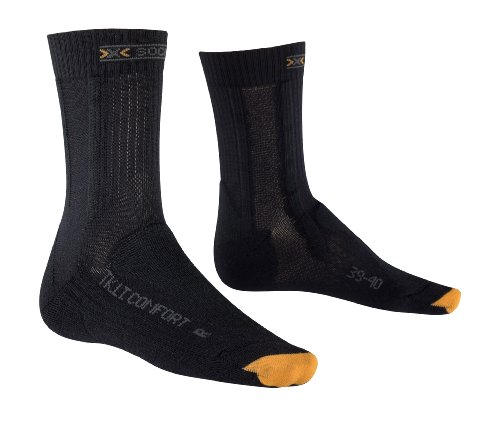 X-Socks Funktionssocken Trekking Light und Comfort Lady Chaussettes Femme, Charcoal/Anthracite, 4