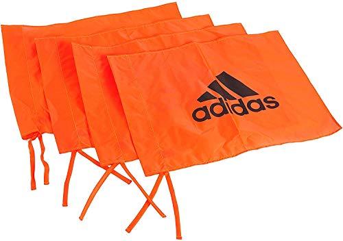 adidas Fähnchen Corner Flag Set of 4, Rot, ADSP-11520
