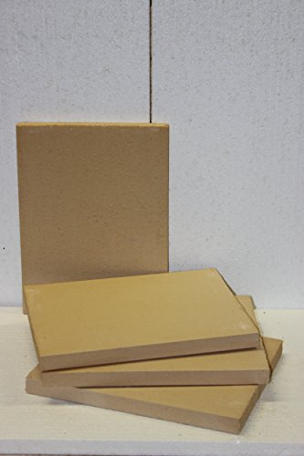 Schamotte Platte 40 x 30 x 3 cm
