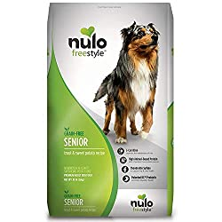 Nulo Senior Grain Free Dog Food With Glucosamine And Chondroitin, Trout And Sweet Potato Recipe