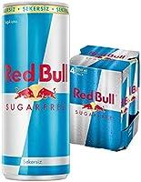 Red Bull Enerji İçeceği. Şekersiz. 250 ml (4'lü Paket. 4x250 ml)