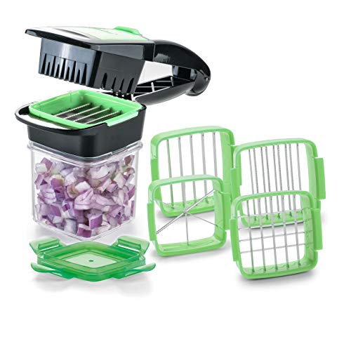 5-en-1 Nicer Quick Dicer Fusion alimentaire fruits Légumes Cutter Slicer Chopper