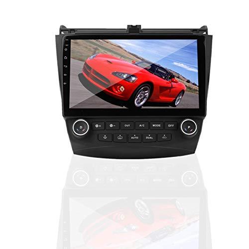 Navegación GPS, coche de 10.1 pulgadas para reproductor de radio estéreo Android compatible con Hon-da Accord 2003-2007