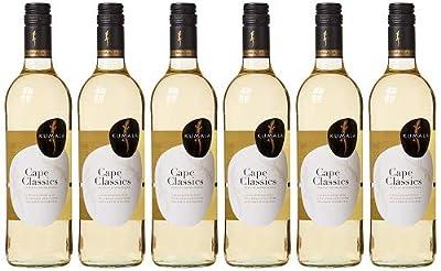 Kumala Cape Classic White Wine, 75 cl (Case of 6)