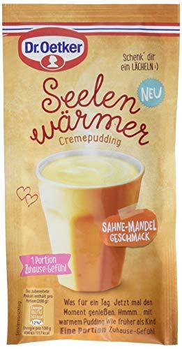 Dr. Oetker Seelenwärmer Pudding Sahne-Mandel, 58 g