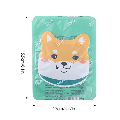spier 10 pcs Cartoon Heat Patches, Long Lasting Heat Warmer for Cold Hands, Pocket Warmers for Outdoor Travelling Heat Period Pain