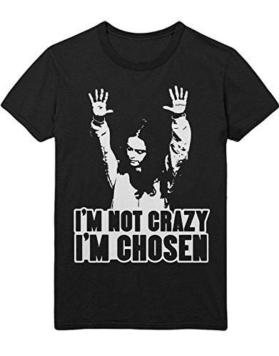 T-Shirt Orange is The New Black I\'m NOT Crazy I\'m Chosen C210050 Schwarz L