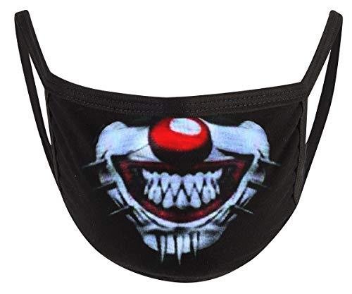 Commando Industries Mund- und Nasemaske (Pinhead Clown)