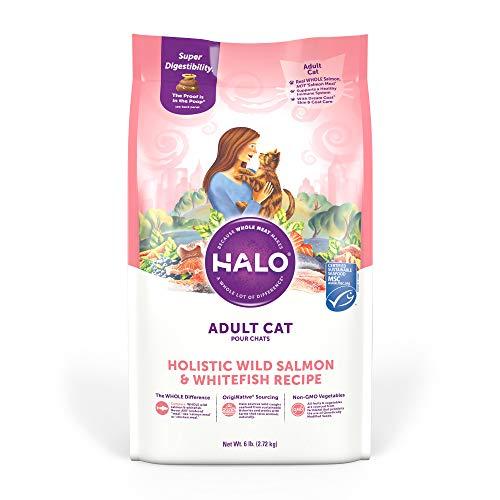 Halo Natural Dry Cat Food - Premium and Holistic...