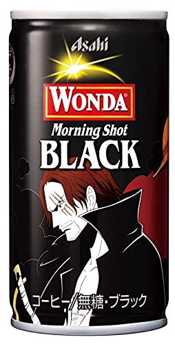 ワンダ モーニングショット ブラック ワンピース(ONE PIECE)缶 190g 30缶 1ケース