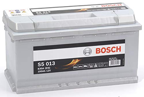 Bosch-S5013 Batteria Silver Auto 100A/h-830A