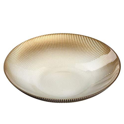 Leonardo - Cibo - Schale, Obstschale - Gold - Glas - Maße (ØxH): 29,5 x 6,5 cm