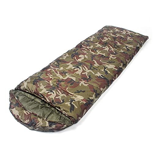 FACWAWF Cómodo Saco De Dormir Tipo sobre Forrado con Fibra De Poliéster, Muy Adecuado para Coleccionar, Pescar, Acampar Y 7 Colores Diferentes 210cmx75cm(700g)